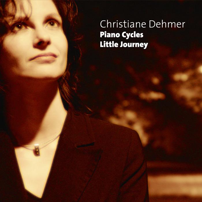 Christiane Dehmer, Albumcover, Little Journey- Piano Cycles, Klavierzyklus, Piano Solo, Solopiano,